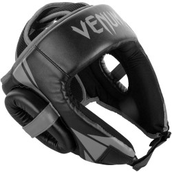 Venum Challenger Open Face Headguard Black Grey