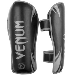 Venum Challenger Shinguards Black Grey