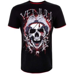 Abverkauf Venum Pirate 3.0 T-Shirt Black Red