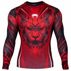 Abverkauf Venum Bloody Roar Rashguard LS Red
