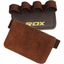 RDX Gym Grippi Leder braun
