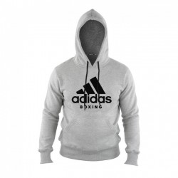 Adidas Boxing Community Hoody Grey Black