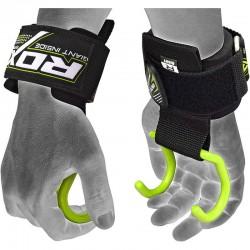 RDX Gym Pro Hook Strap grün