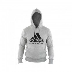 Adidas Kick Boxing Community Hoody Grey Black