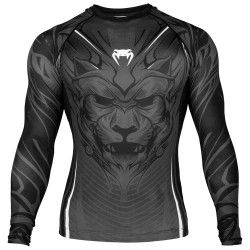 Abverkauf Venum Bloody Roar Rashguard LS Grey