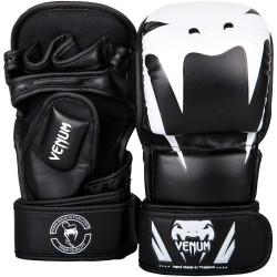 Venum Impact Sparring MMA Gloves Black White