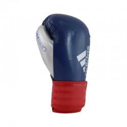 Abverkauf Adidas Hybrid 75 Boxhandschuhe Blau Rot Silber Schwarz