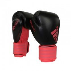 Abverkauf Adidas Hybrid 200 Dynamic Fit Boxhandschuhe Black Red