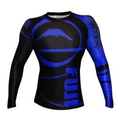 Fuji Freestyle Ranked IBJJF Rashguard LS Blue Black