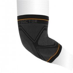 Shock Doctor Compression Knit Elbow Sleeve Gel Support Black