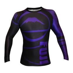 Fuji Freestyle Ranked IBJJF Rashguard LS Purple Black