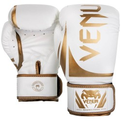 Venum Challenger 2.0 Boxing Gloves White Gold