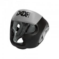 Dax Kopfschutz Rebound Sparring Schwarz Grau