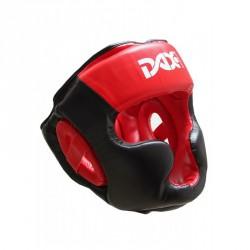 Dax Kopfschutz Rebound Sparring Schwarz Rot