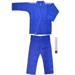 Adidas J350 Judo Club Gi Blau Weiss