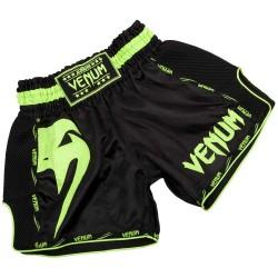 Abverkauf Venum Giant Muay Thai Shorts Black Neo Yellow