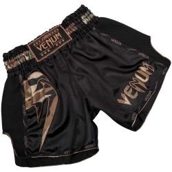 Venum Giant Muay Thai Shorts Black Forest Camo