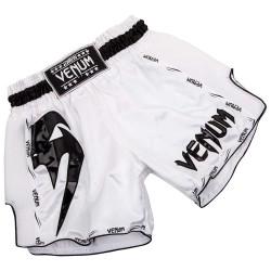 Abverkauf Venum Giant Muay Thai Shorts White Black