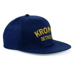 Kronk Detroit Snapback Cap Navy