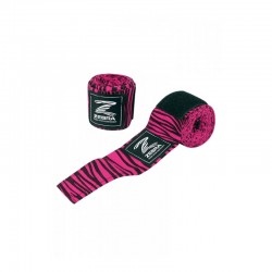 Zebra Boxbandage 255cm black pink