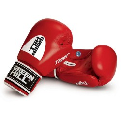 Deal des Monats Green Hill Tiger AIBA Boxhandschuhe Rot