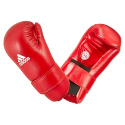 Adidas Semi Contact Gloves Wako Red