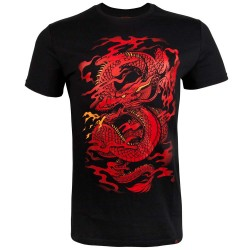 Abverkauf Venum Dragon's Flight T-shirt Black Red