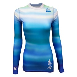 Fuji Sports Haiku Rashguard Women Blue
