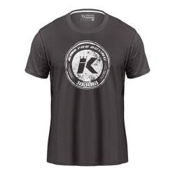 King Pro Boxing Logo T-Shirt Grey