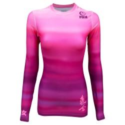 Fuji Sports Haiku Rashguard Women Pink