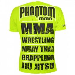 Phantom EVO MMA Sports 2.0 T-Shirt Neon Black