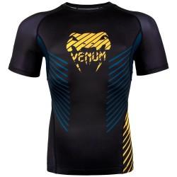Venum Plasma Rashguard SS Black Yellow