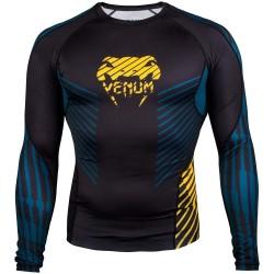 Venum Plasma Rashguard LS Black Yellow