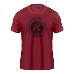 King Pro Boxing Logo T-Shirt Winered