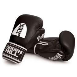 Green Hill Victory Boxhandschuhe Schwarz