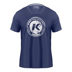 King Pro Boxing Logo T-Shirt Blue
