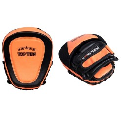 Top Ten Speed Gel Handpratzen Schwarz Orange