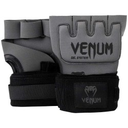 Venum Kontact Gel Glove Wrap Grey Black