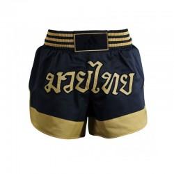 Adidas Thai Boxing Short Black Gold
