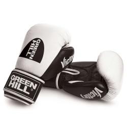 Green Hill Victory Boxhandschuhe Weiss Schwarz