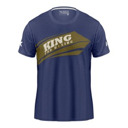 King Pro Boxing Arrow T-Shirt Blue