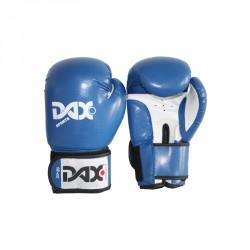 Abverkauf Dax Boxhandschuhe Onyx TT Kunstleder Blau Weiss