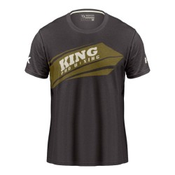 King Pro Boxing Arrow T-Shirt Grey