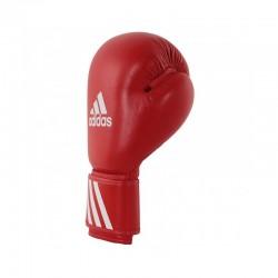 Adidas Amateur Boxhandschuhe Leder Wako Rot 10oz