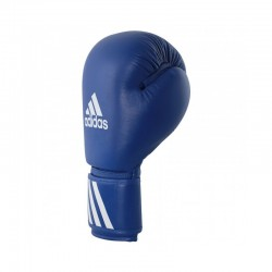 Adidas Amateur Boxhandschuhe Leder Wako Blau 10oz