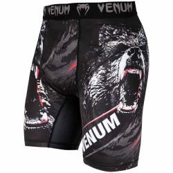 Venum Grizzli Compression Shorts Black White