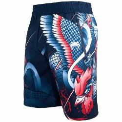Venum Rooster Fitness Shorts Navy Blue Orange