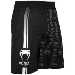 Venum Logos Fitness Shorts Black White