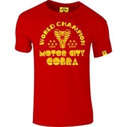 Kronk Thomas Hearns Motor City Cobra Slimfit T-Shirt Red