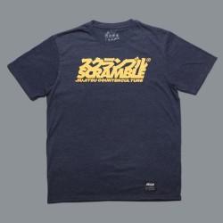 Scramble Counterculture T-Shirt Heather Navy